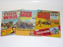 TRUE WAR Issues 1-3 (1978)